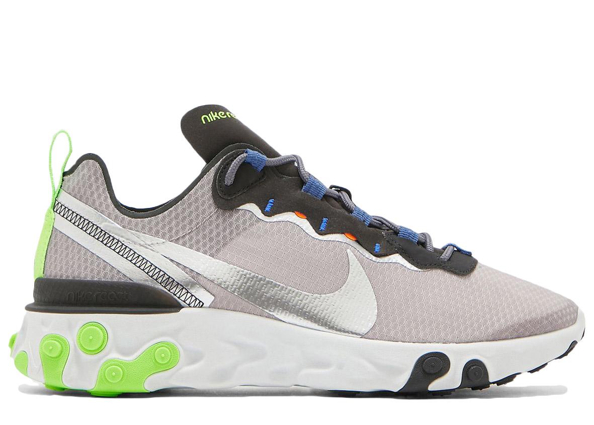Nike React Element 55 SE Grey Volt