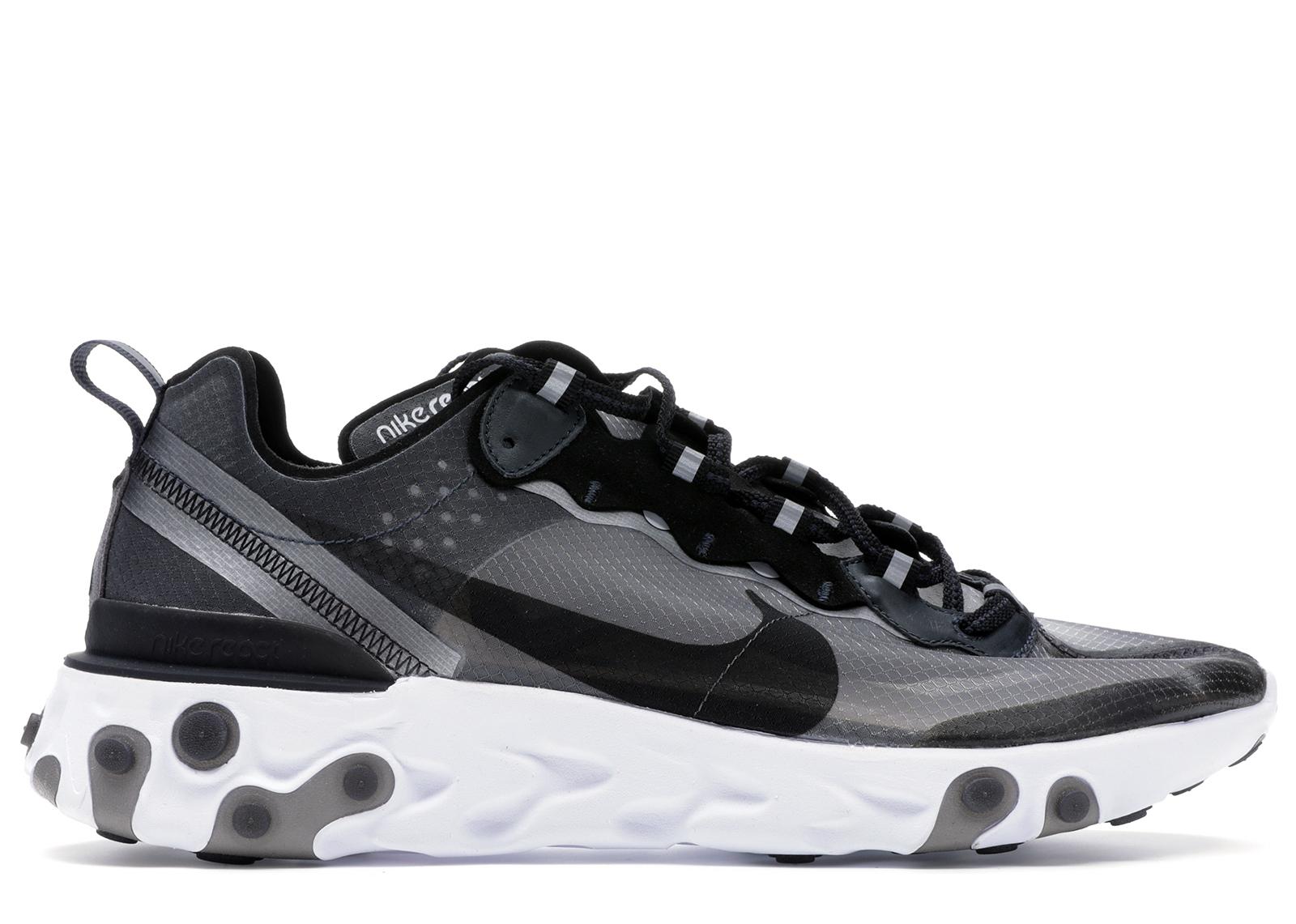 Nike React Element 87 Anthracite Black - AQ1090-001