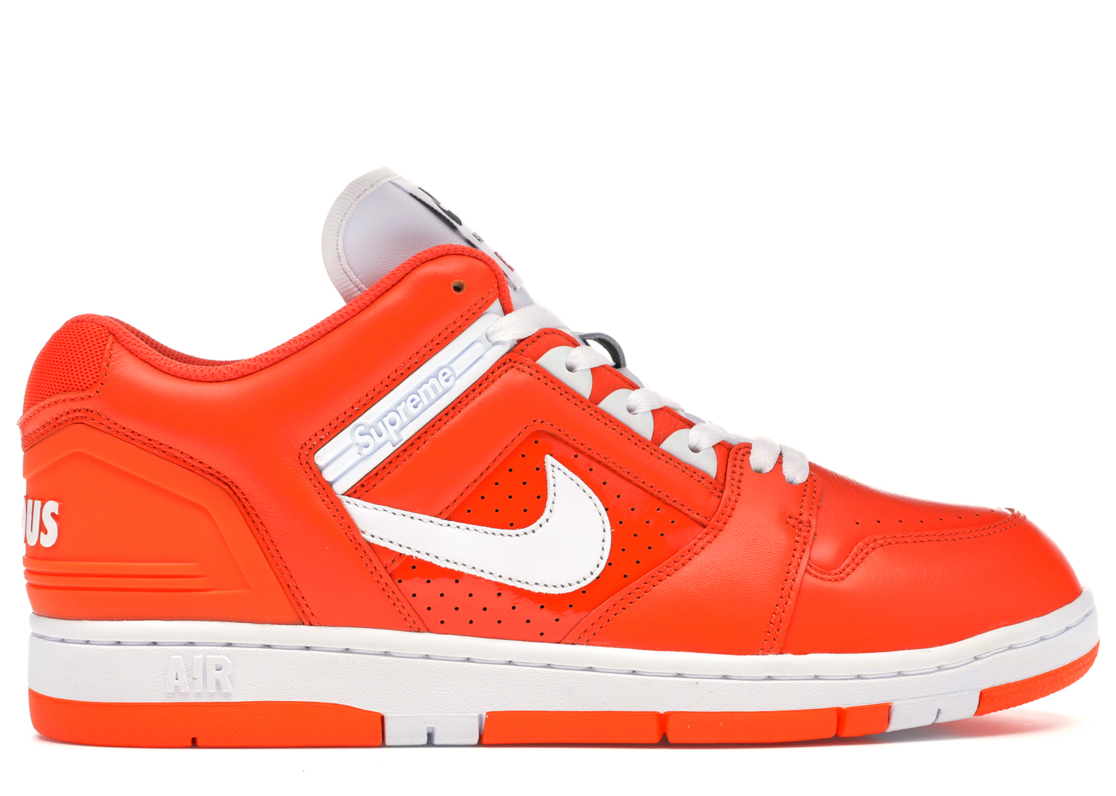 Nike SB Air Force 2 Low Supreme Orange - AA0871-818