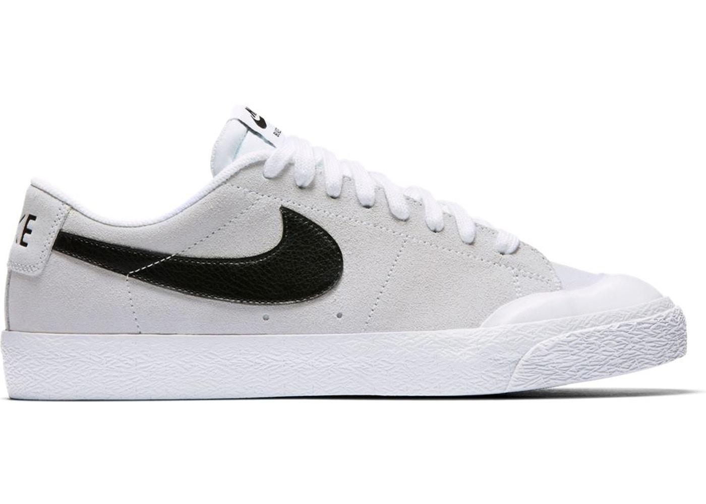 Nike SB Blazer Low Summit White Black - 864348-101