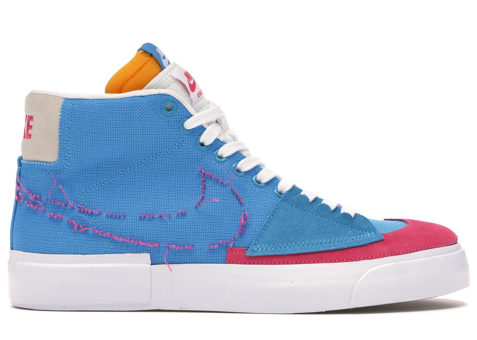 Nike SB Blazer Mid Edge Hack Pack Blue