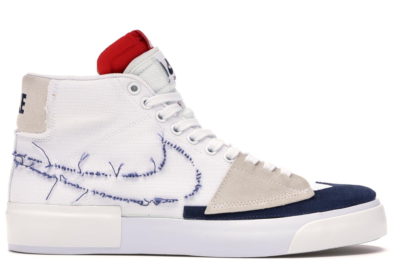 Nike SB Blazer Mid Edge Hack Pack White