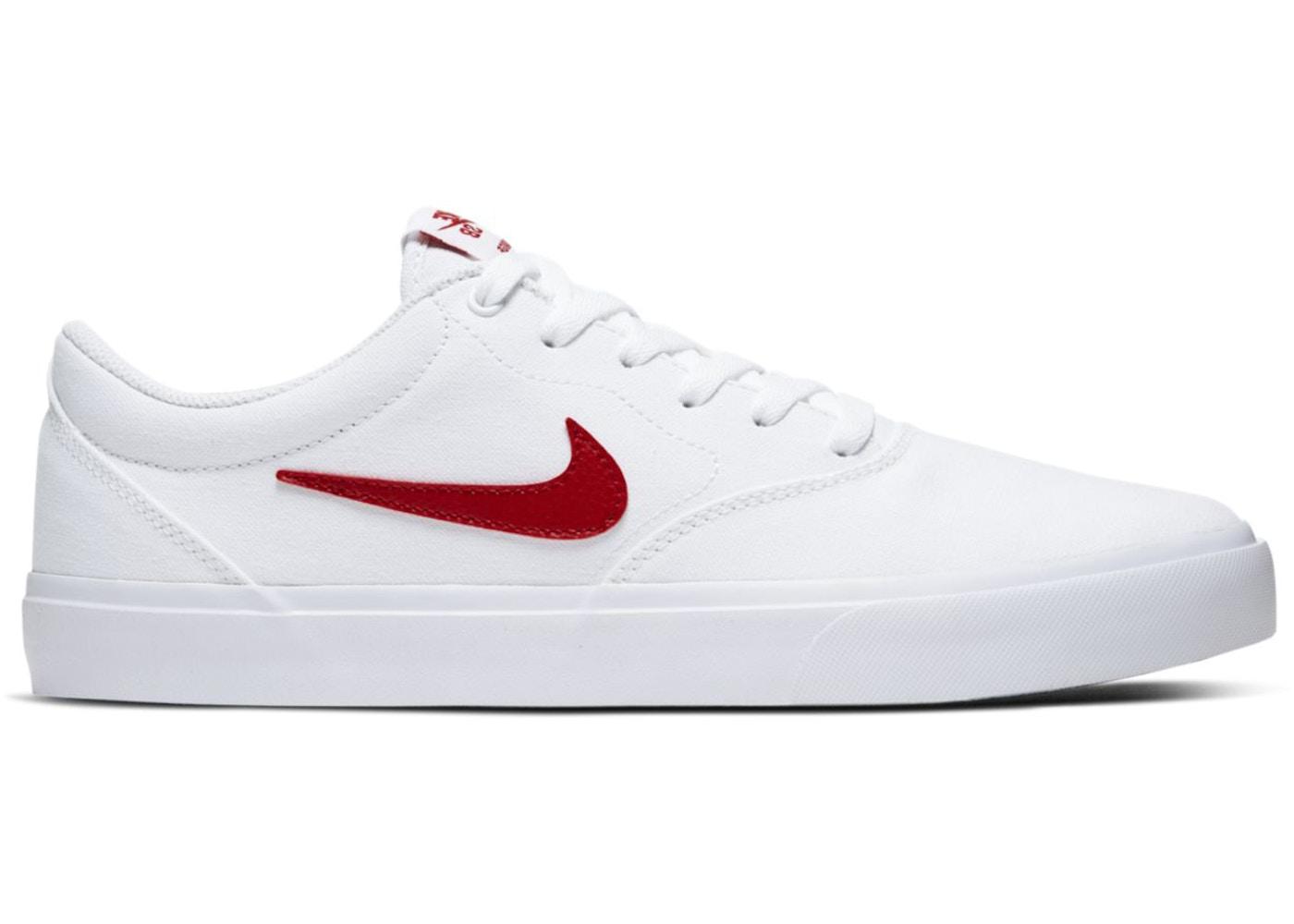 Nike SB Charge Canvas White