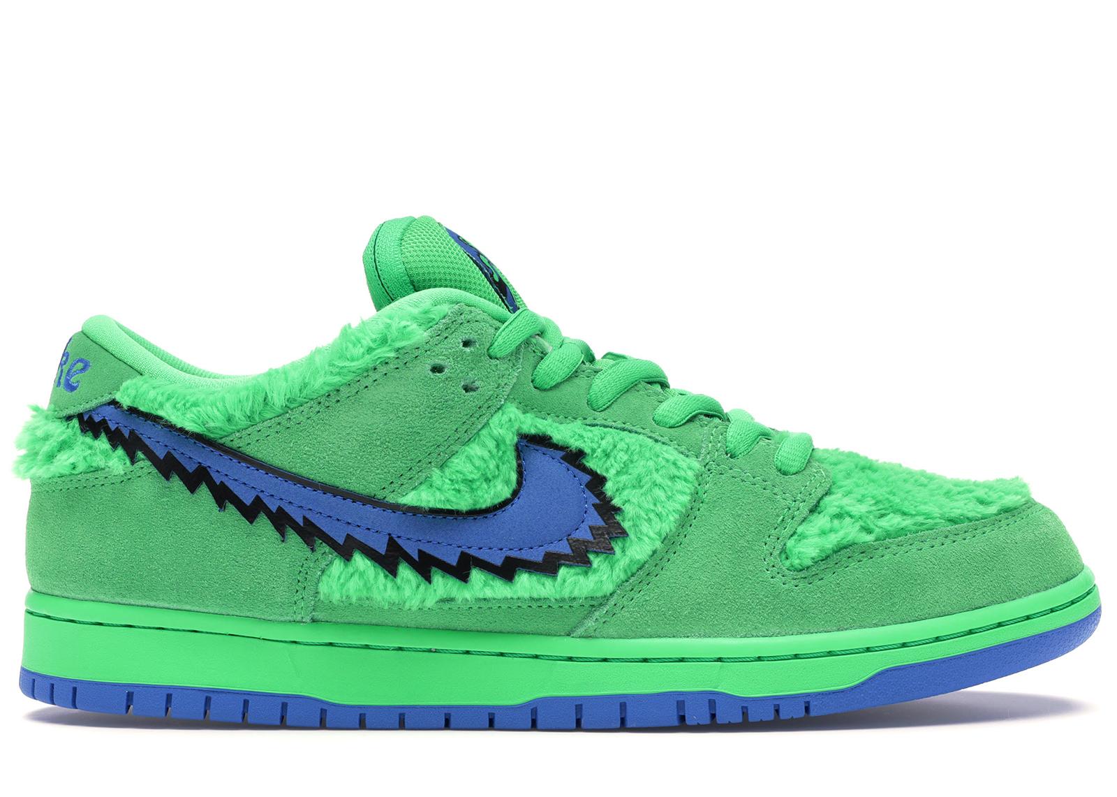 Nike SB Dunk Low Grateful Dead Bears Green