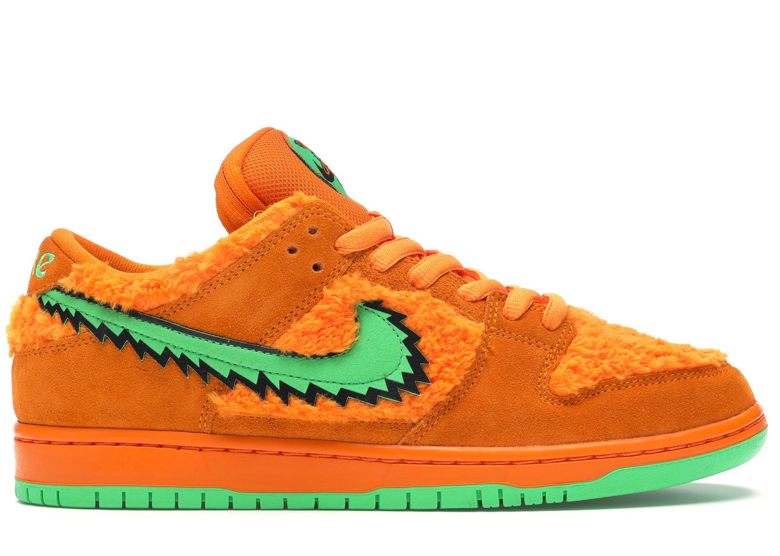 Nike SB Dunk Low Grateful Dead Bears Orange - CJ5378-800
