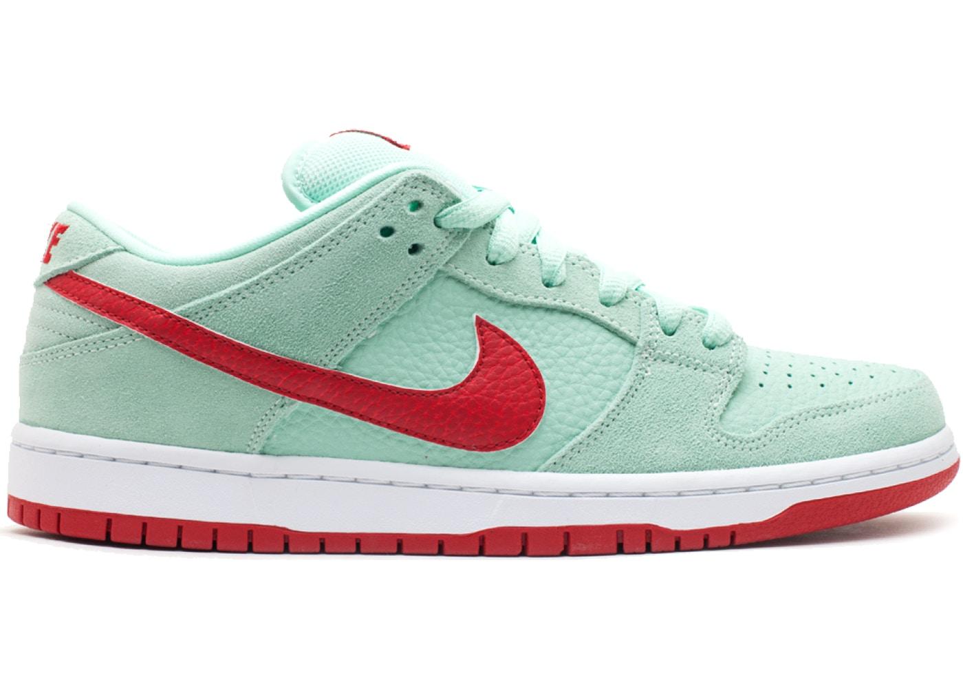 Nike SB Dunk Low Medium Mint Gym Red - 304292-360