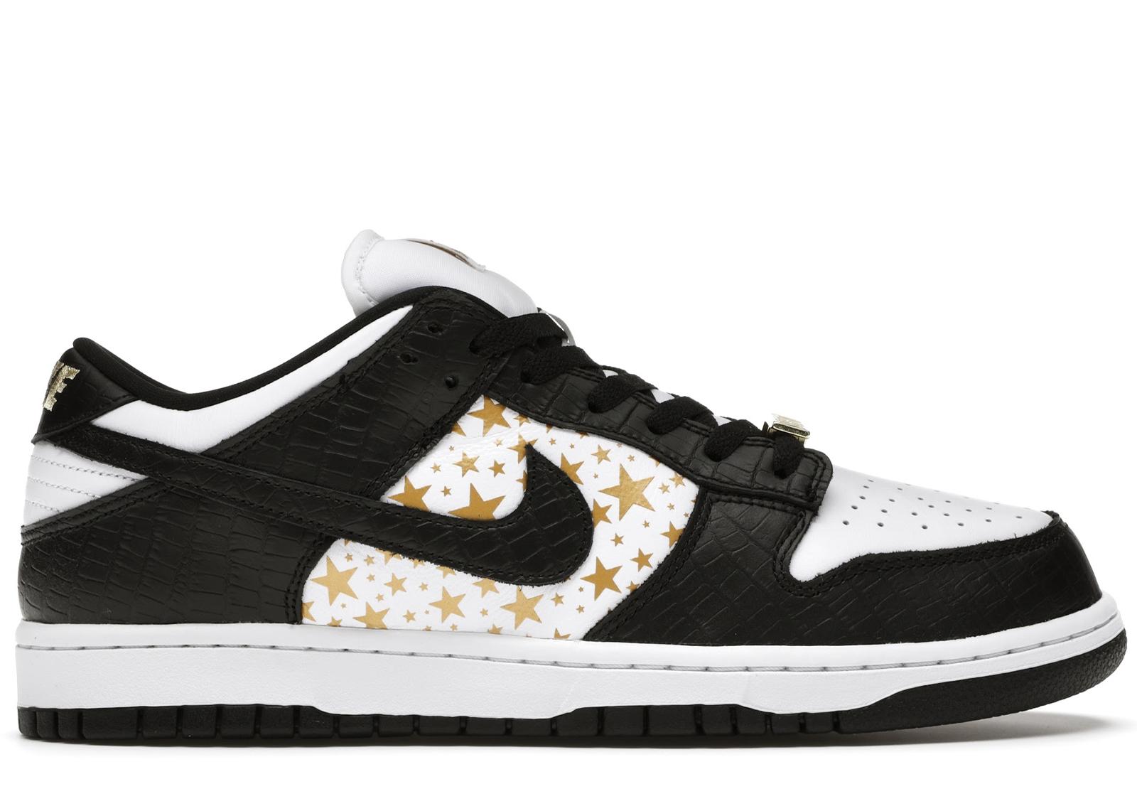 Nike SB Dunk Low Supreme Stars Black (2021) - DH3228-102