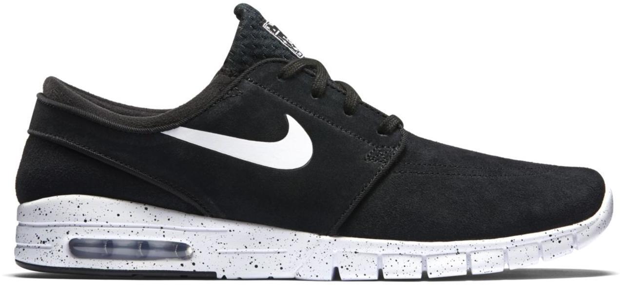 Nike SB Stefan Janoski Max Leather Black White