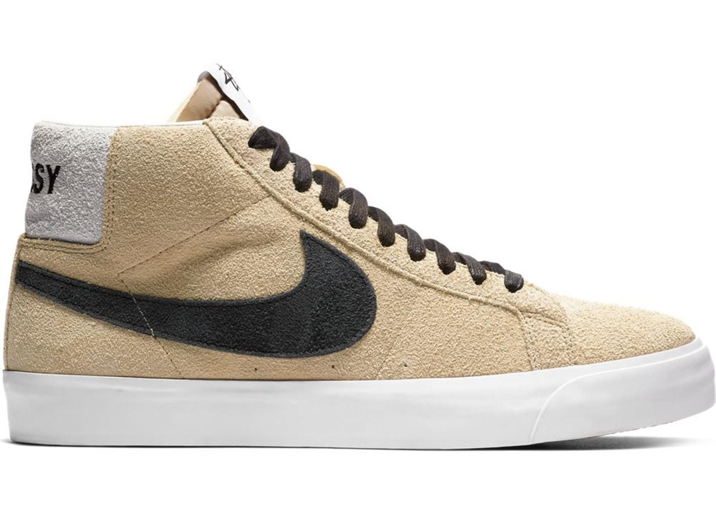 desayuno Histérico subtítulo  Nike SB Zoom Blazer Mid Stussy - AH6158-700