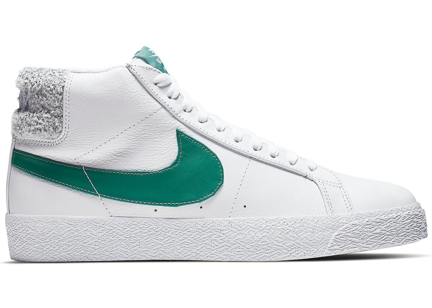 Nike SB Zoom Blazer Mid White Bicoastal