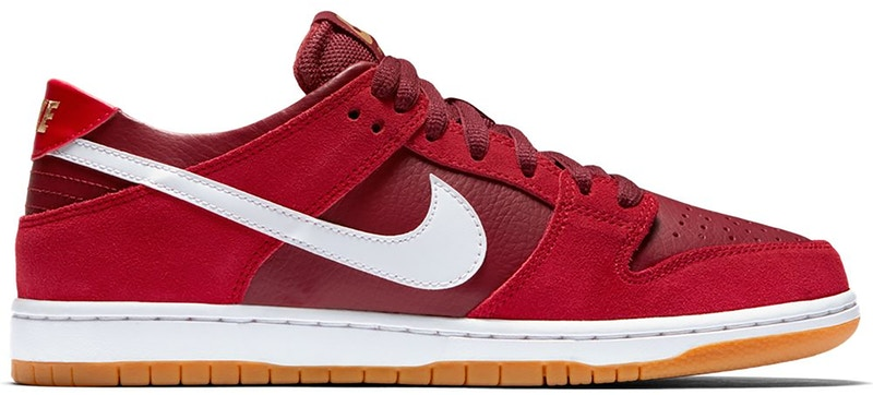 Nike SB Zoom Dunk Low Track Red