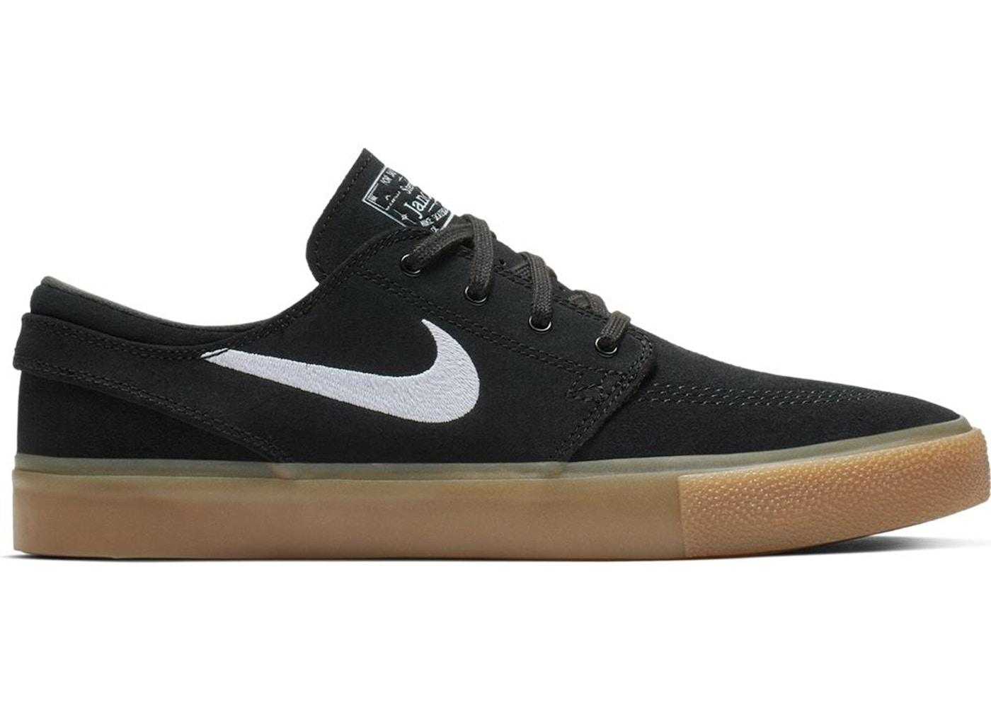 Nike Sb Zoom Janoski Rm Black White Gum Aq7475 003