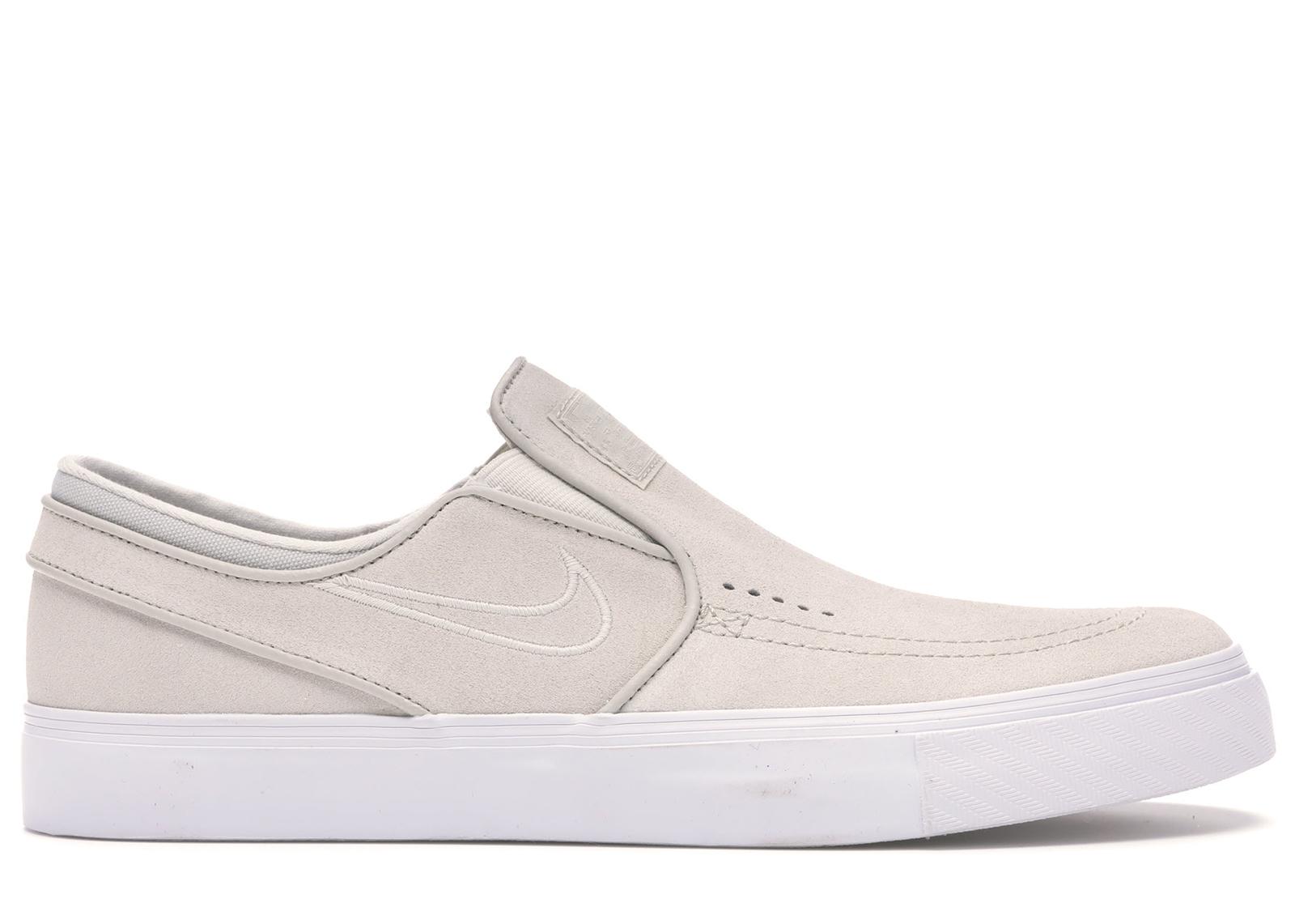 Nike SB Zoom Stefan Janoski Slip-On Light Bone - 833564-100