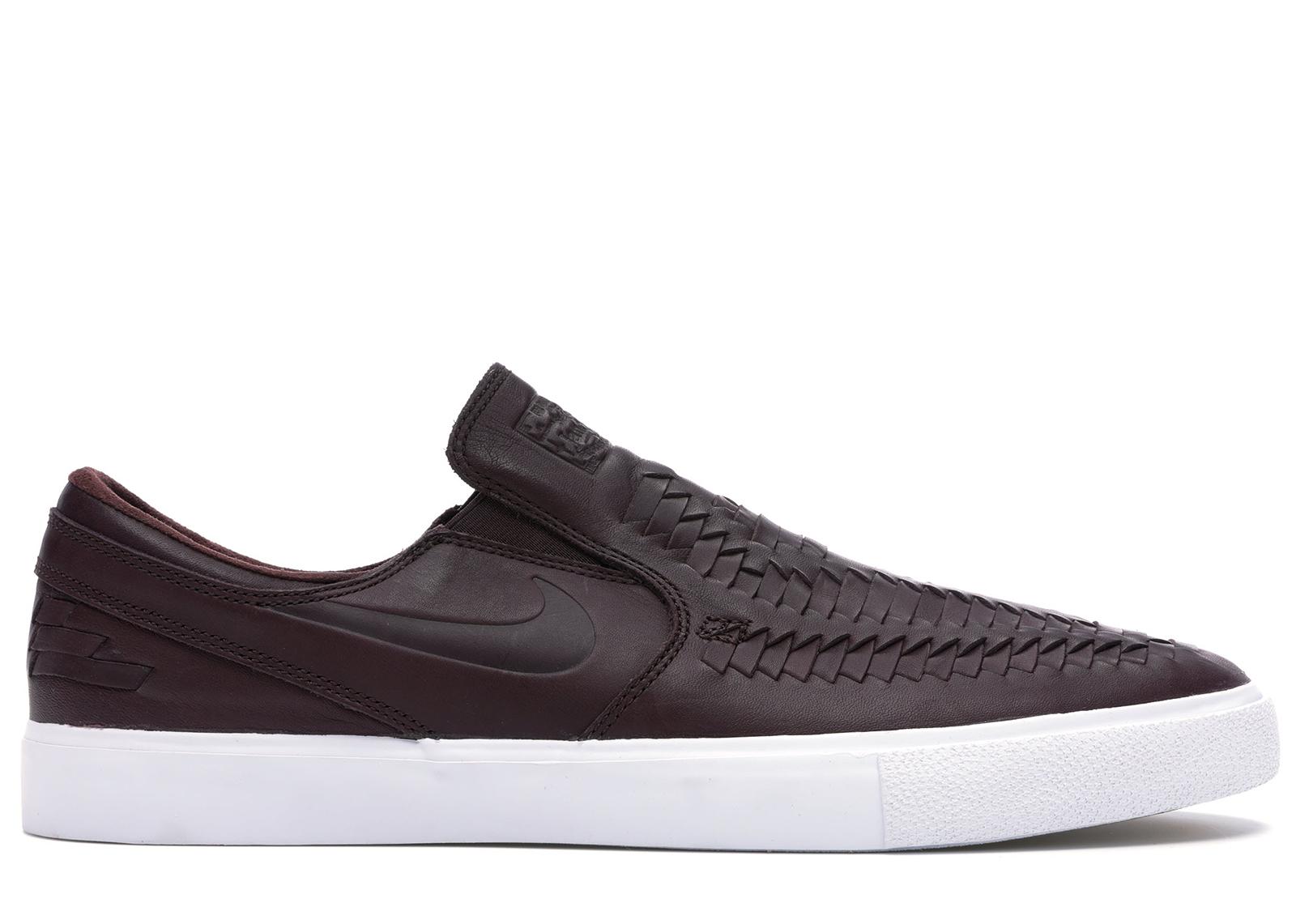 Nike SB Zoom Stefan Janoski Slip RM Crafted Woven Mahogany ...