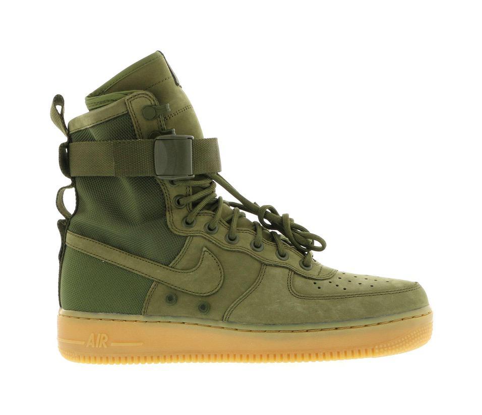 Nike SF Air Force 1 Faded Olive - 859202-339