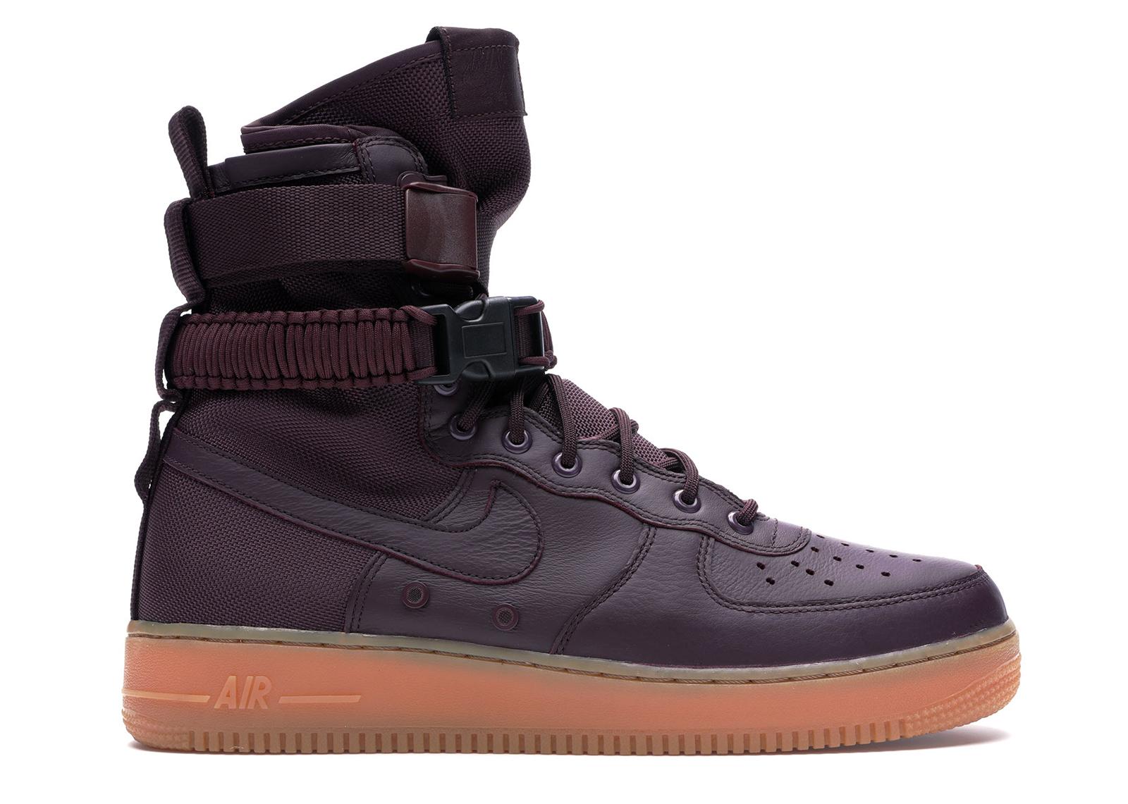 Nike SF Air Force 1 High Deep Burgundy - 864024-600