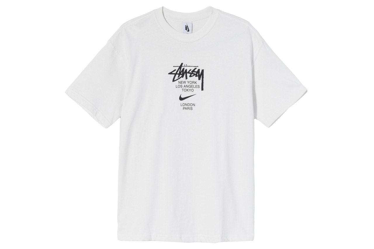 Stussy Future Graphic T-Shirt Tee in White in size M,L