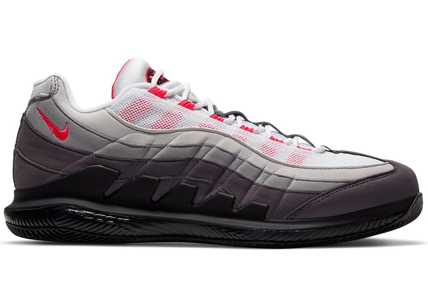 NikeCourt Zoom Vapor X Air Max 95 Solar Red