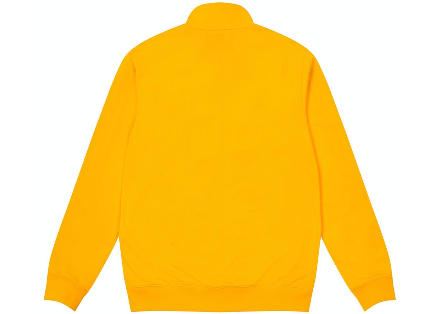 Palace Adidas Firebird Track Top Yellow