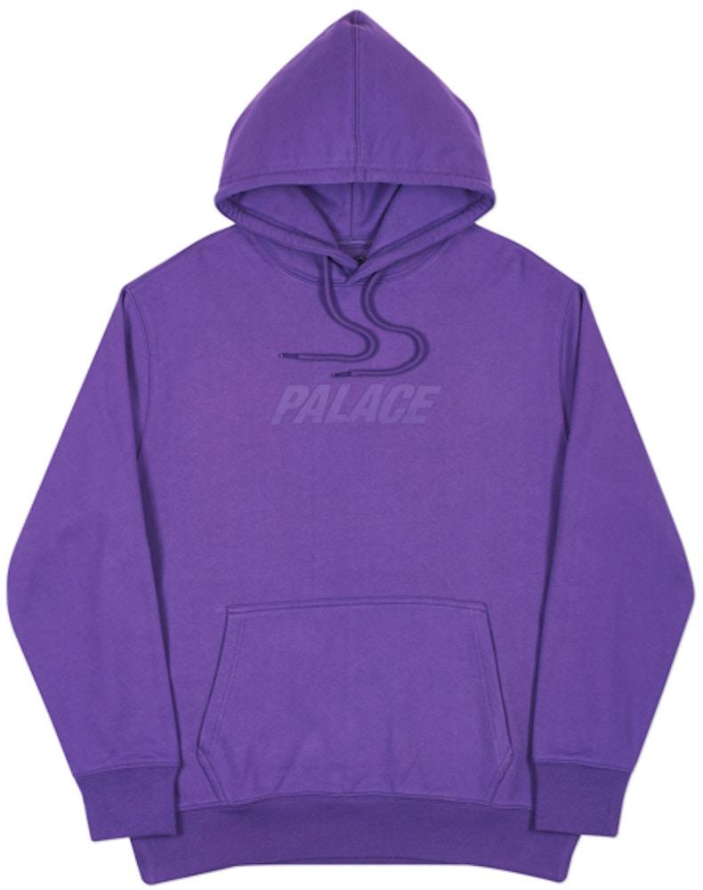 Palace Jumbo Ferg Hood Purple