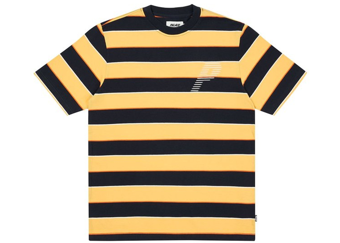 Palace The Stripe Is Right T-Shirt Orange