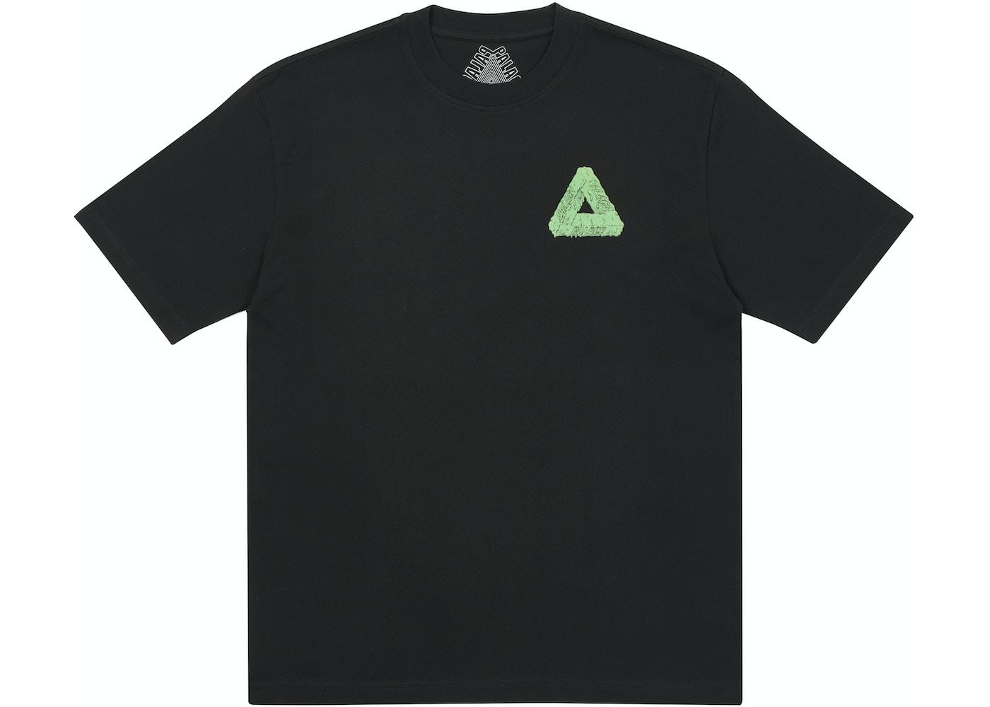 Palace Tri-Slime T-Shirt Black - SS21
