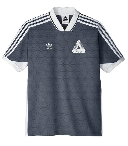 Palace adidas Shortsleeve Team Shirt Onix - SS15