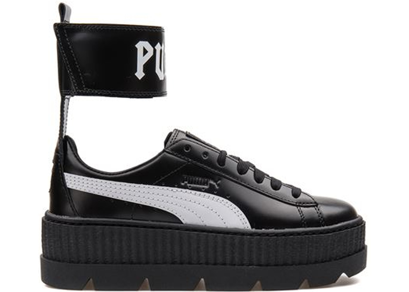 Puma Ankle Strap Rihanna Fenty Black White (W)