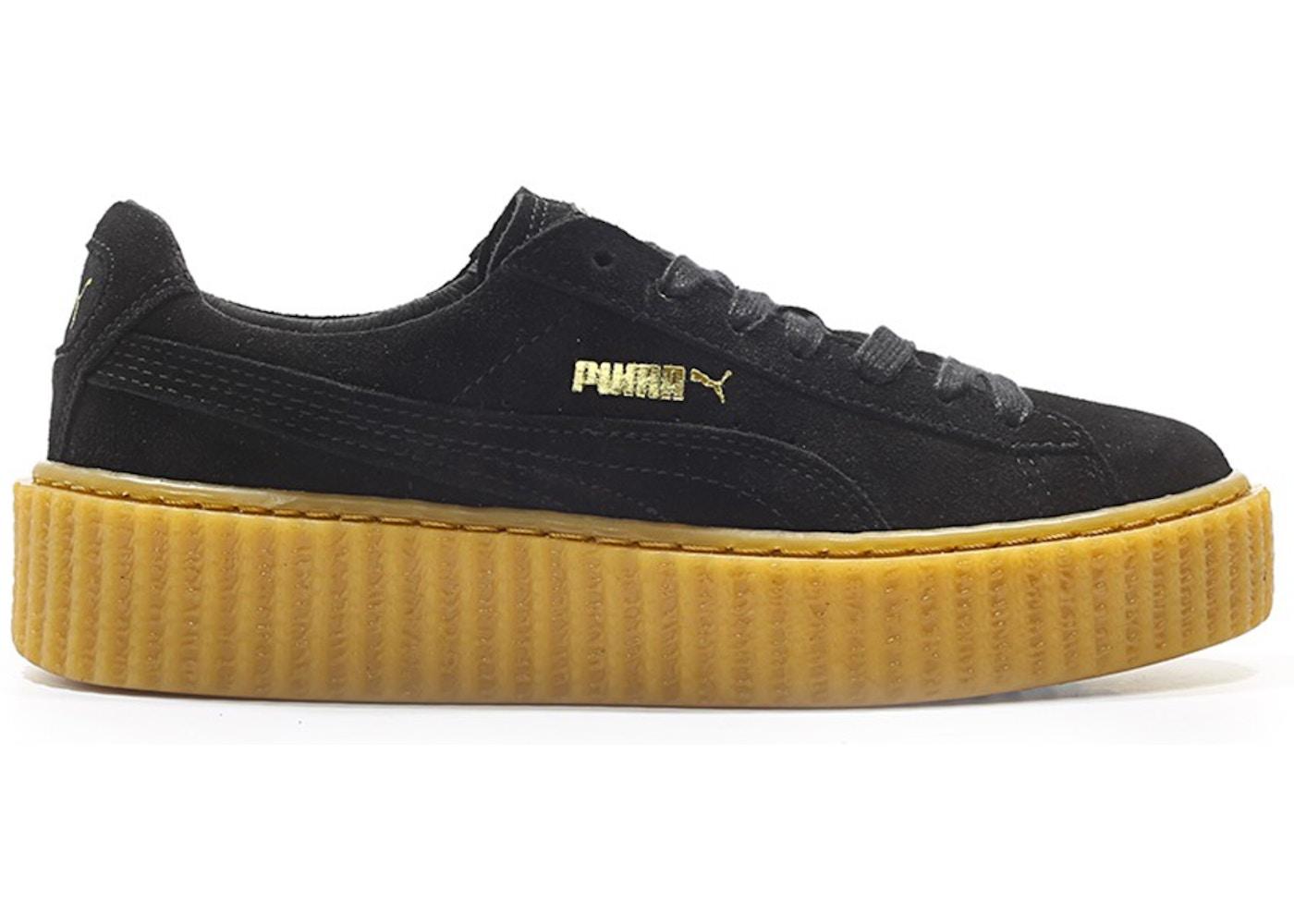 Puma Creepers Rihanna Fenty Black Oatmeal (W)
