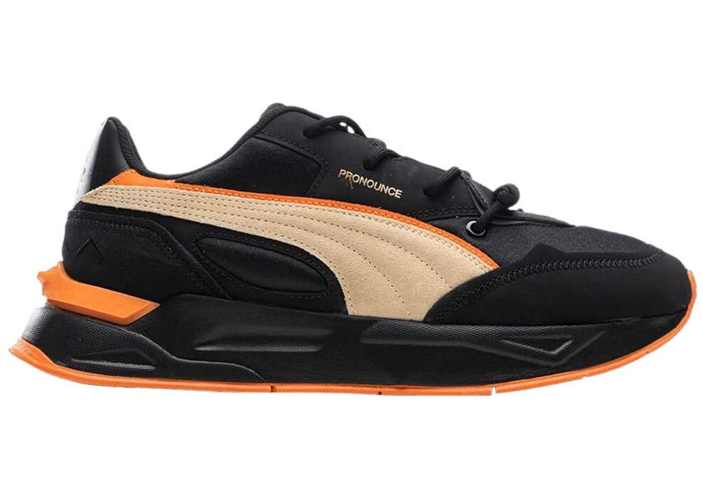 Puma Mirage Sport Pronounce Black Pebble
