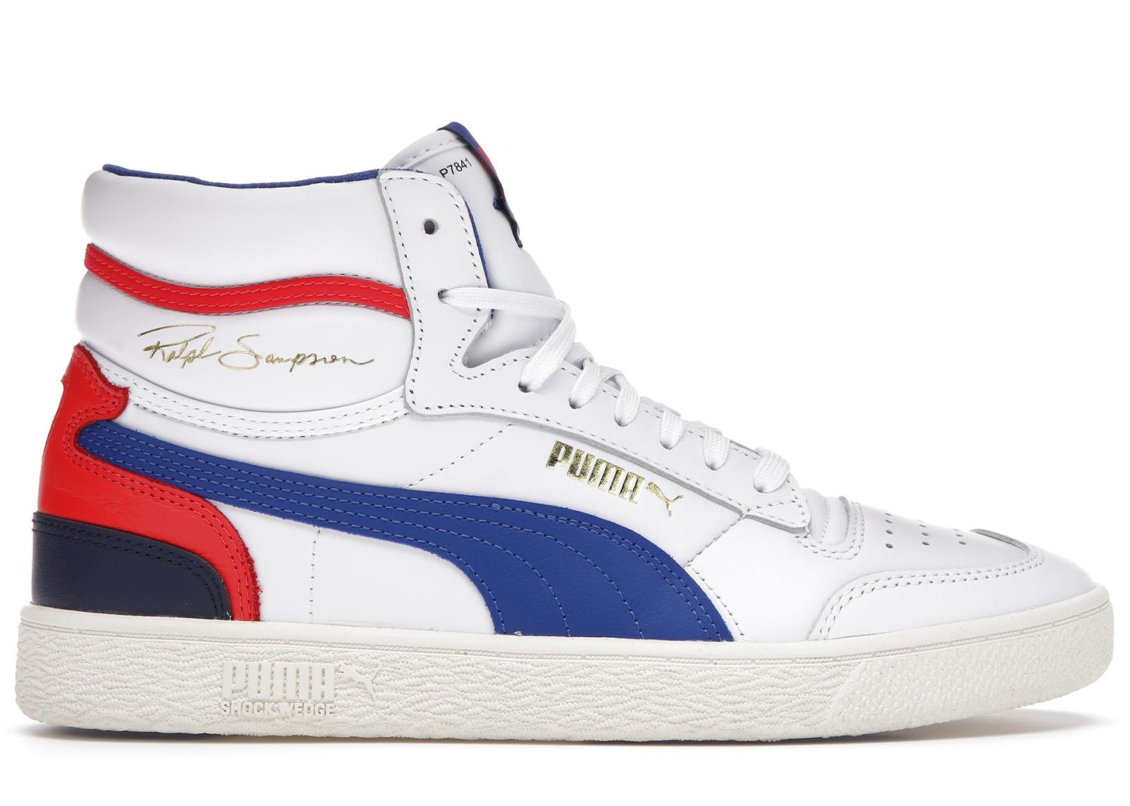 Puma Ralph Sampson Mid OG White Blue Red