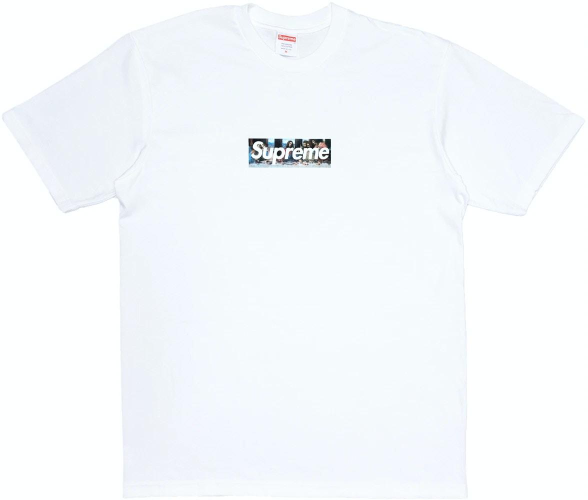 Supreme Milan Box Logo Tee White Ss21