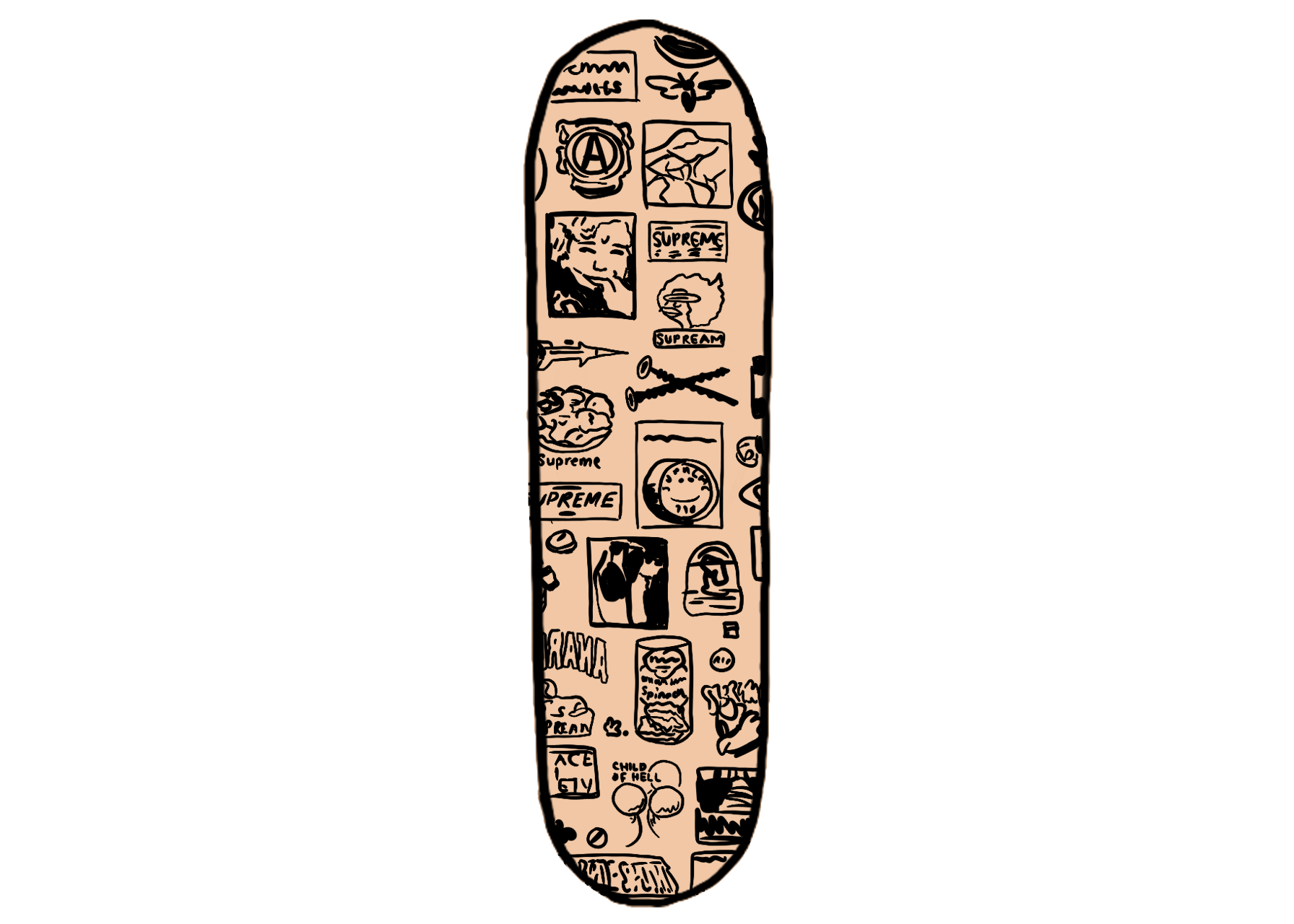 world famous supreme sticker supreme sticker skate sticker