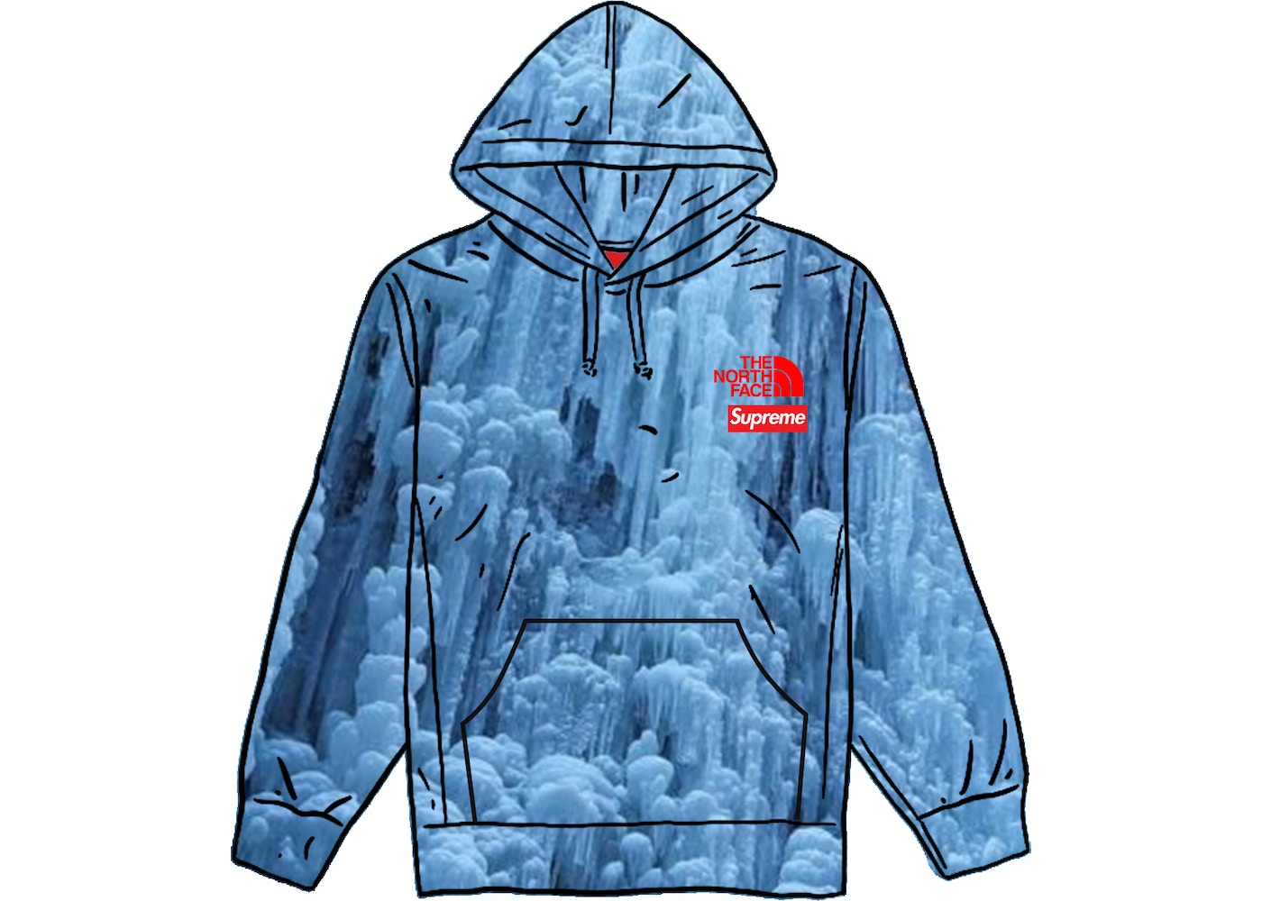 Supreme The North Face Ice Climb Hooded