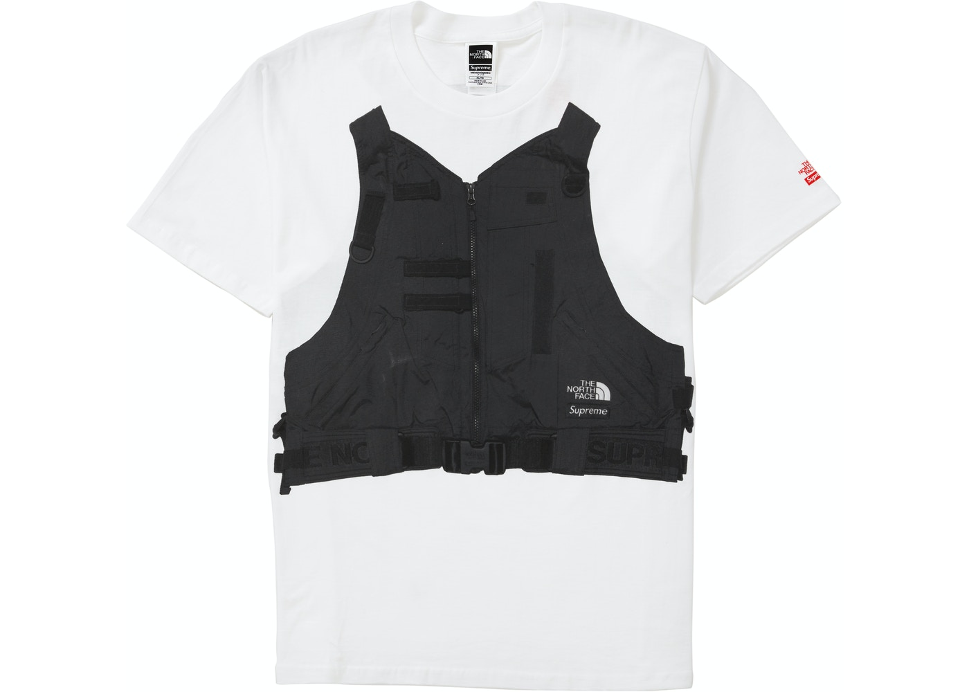 Supreme The North Face Rtg Tee White Ss20