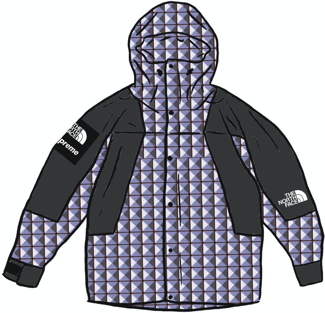 Supreme The North Face Studded Mountain