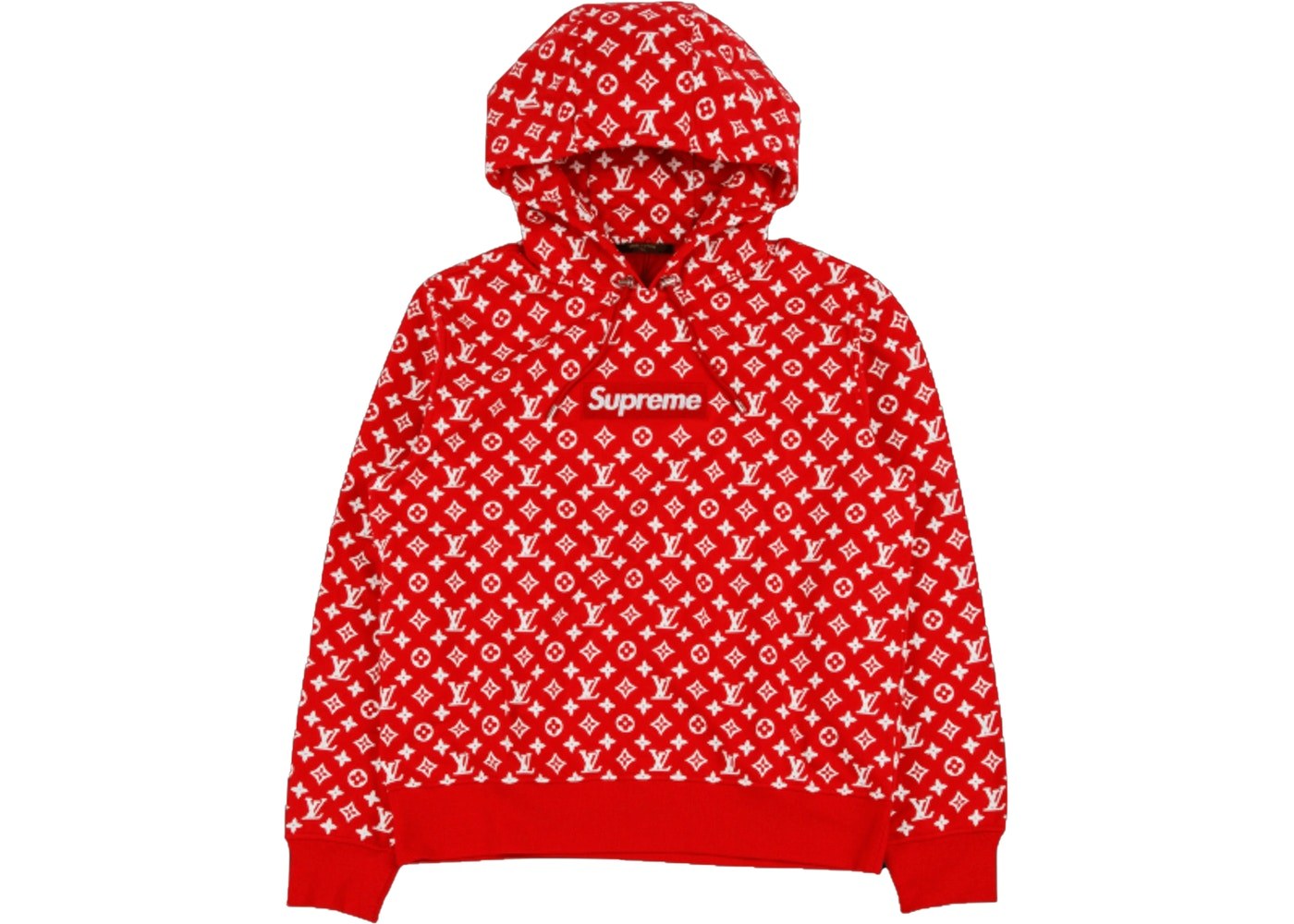 Supreme X Louis Vuitton Box Logo Hooded