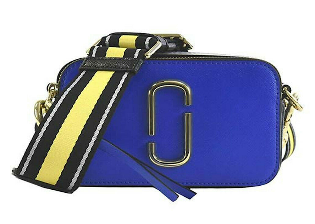 The Marc Jacobs The Snapshot Dazzling Blue Multi in Saffiano ...