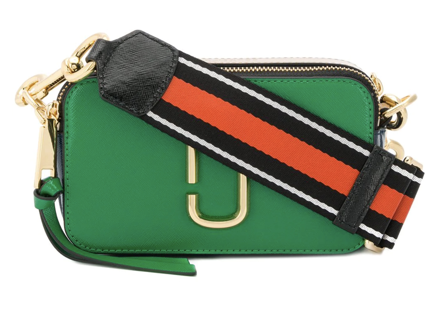 The Marc Jacobs The Snapshot Pepper Green Multi in Saffiano ...