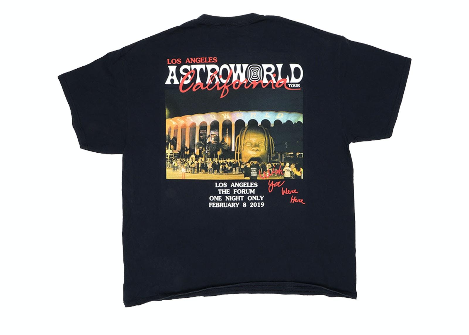 Travis Scott AUTHENTIC Astroworld Festival 2019 T Shirt Size L