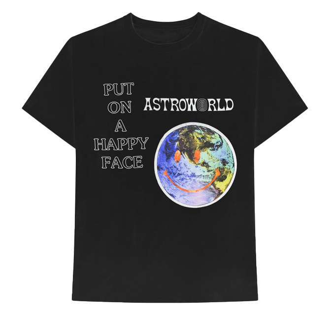 Happy Face Astroworld T-Shirt Toddler