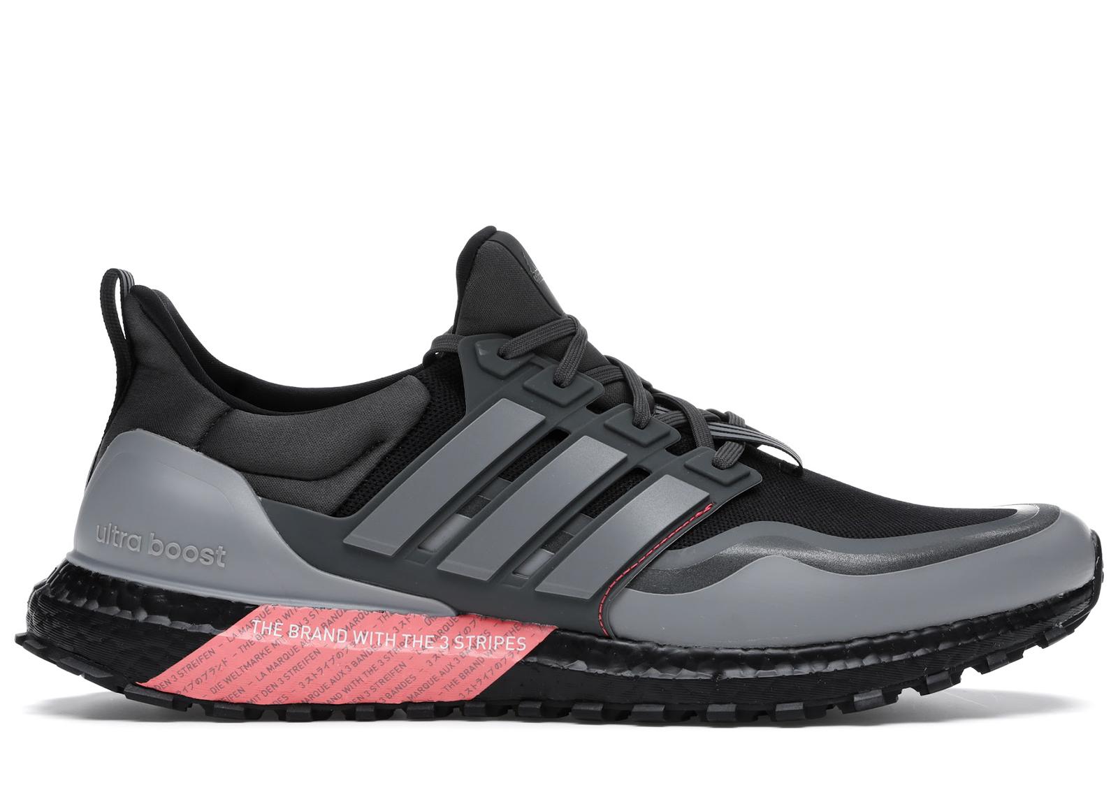 adidas Ultraboost All Terrain Black Red Grey