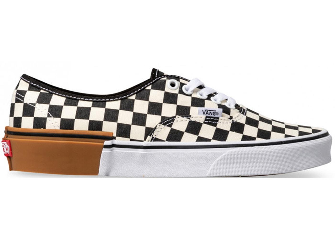 Vans Authentic Checkerboard Gum Sole - VNA38EMU58