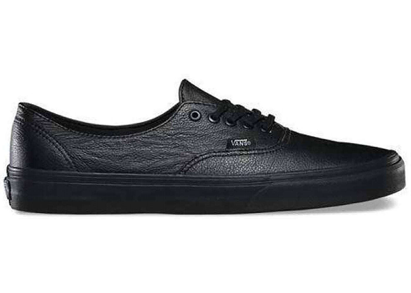 Vans Authentic Decon Premium Leather Black