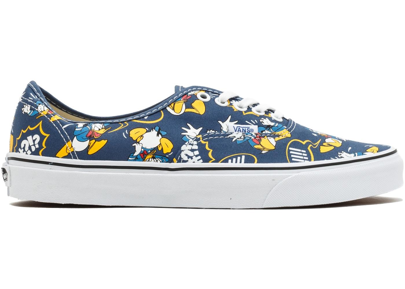 Vans Authentic Donald Duck Navy