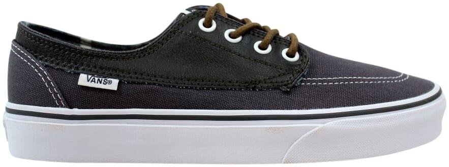 Vans Brigata Leather/Plaid - VN000ZSLIFX