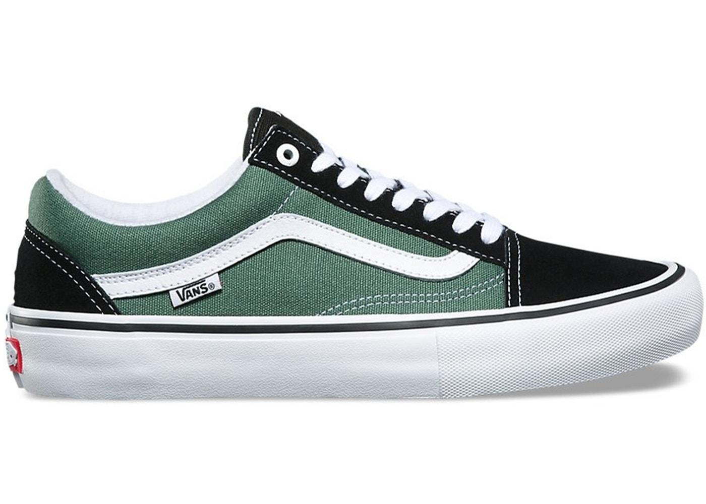 Vans Old Skool Black Duck Green - Sneakers