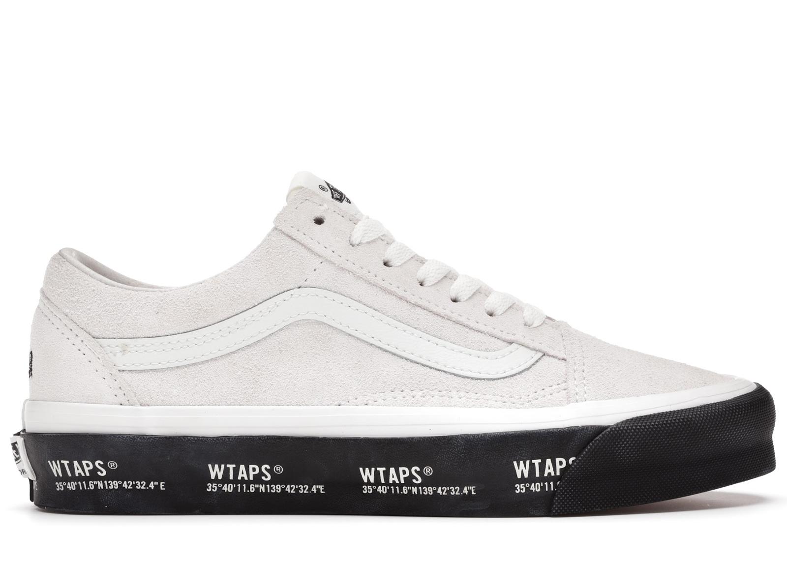 Vans Old Skool WTAPS White Black - VN0A4P3X20F