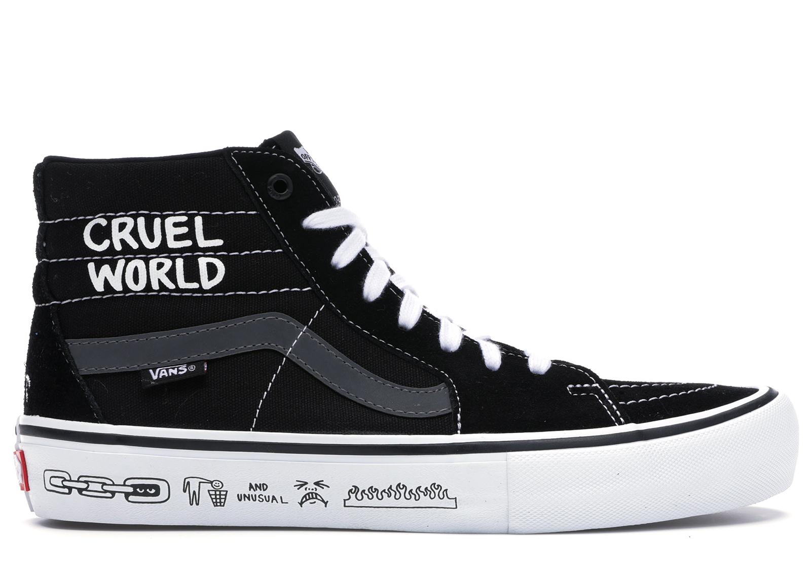 Vans Sk8-Hi Cult Cruel World Send Rescue - Sneakers