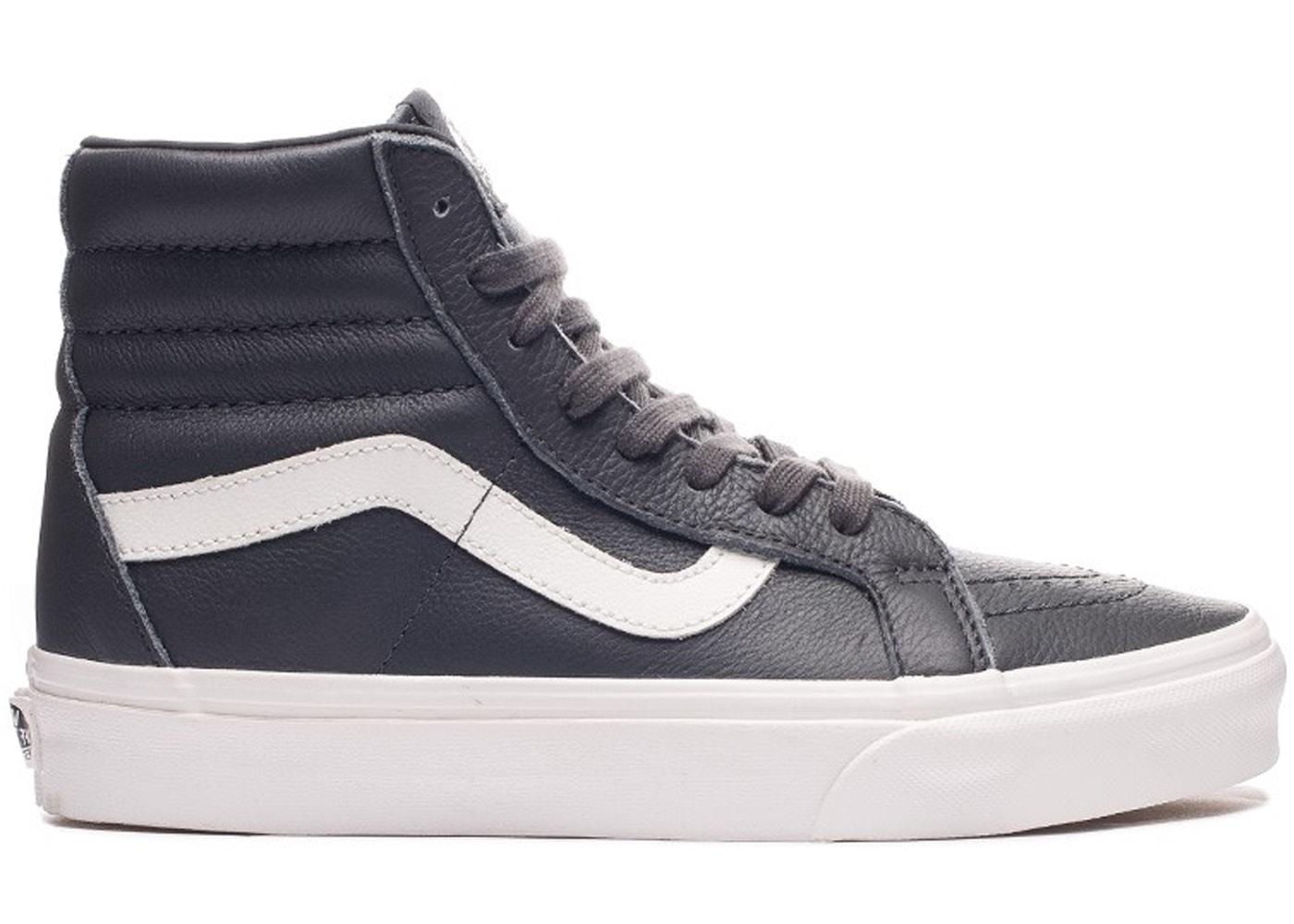 Vans Sk8-Hi Leather Asphalt